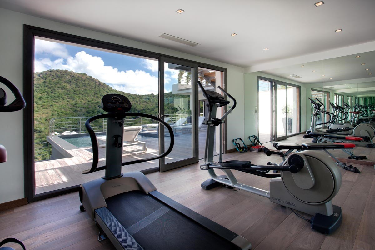 Fitness Room - © Laurent Benoit