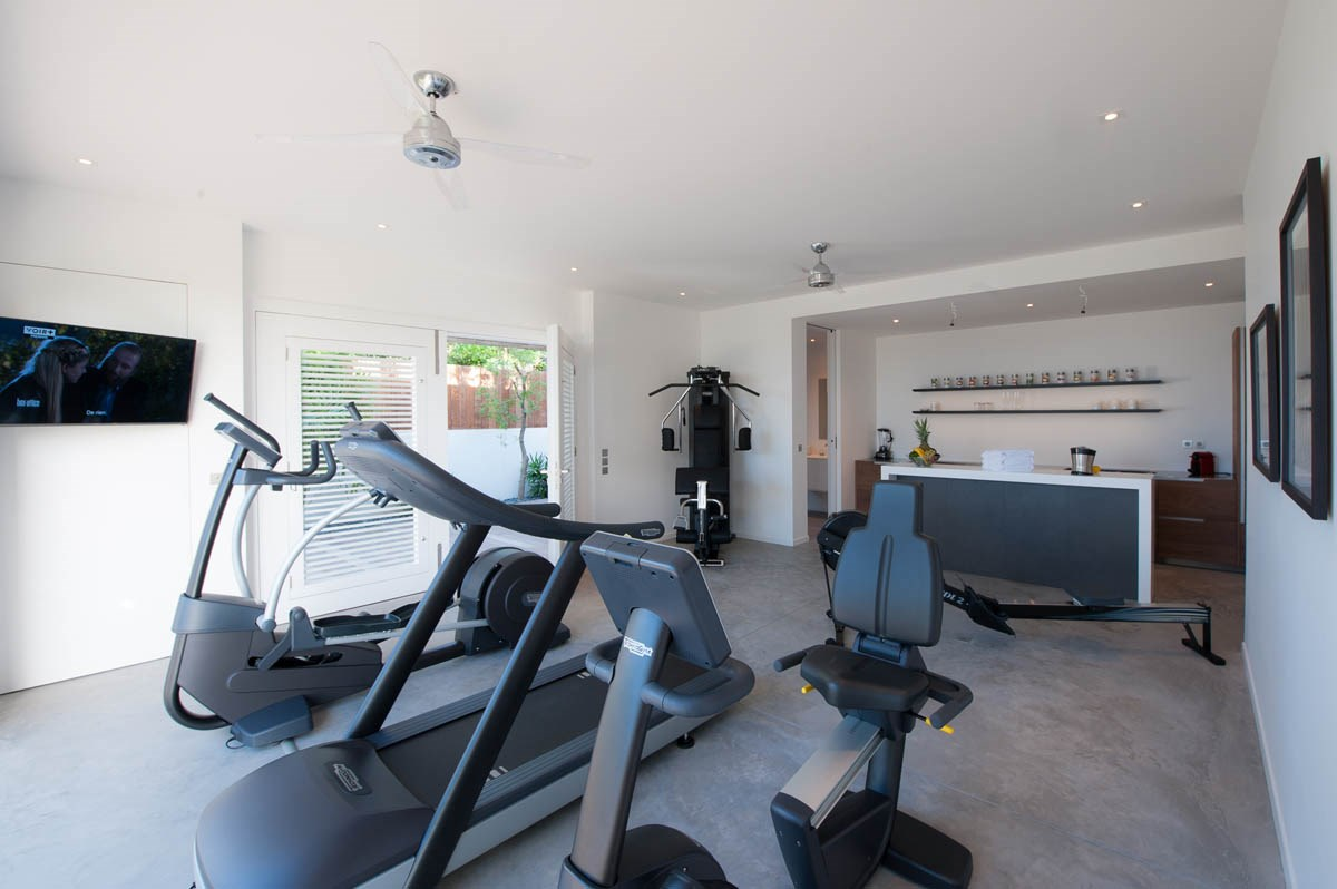 Ginger - Fitness room
