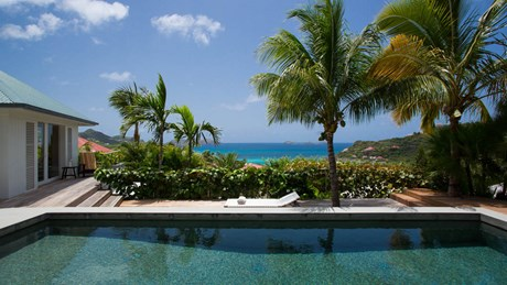 Villa Alaia - View - Eden Rock Villa Rental - St Barth