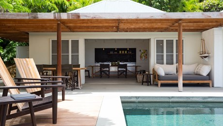 Villa Alaia - Outside Equipment - Eden Rock Villa Rental - St Barth