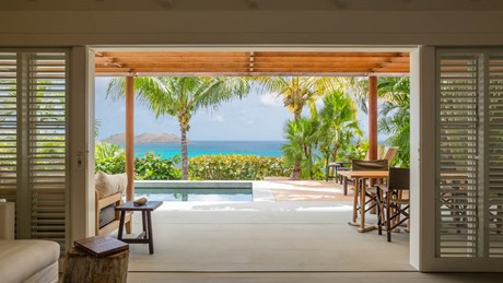 Villa Alaia - Living Room - Eden Rock Villa Rental - St Barth