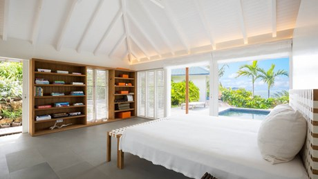 Villa Alaia - Bedroom 1 - Eden Rock Villa Rental - St Barth