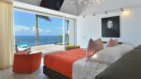 Eden Rock Villa Rental - Villa Utopic - Bedroom 2 - St Barths
