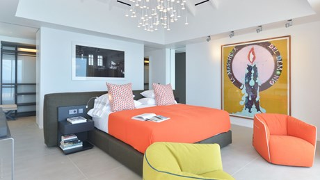 Eden Rock Villa Rental - Villa Utopic - Bedroom 2 -St Barths