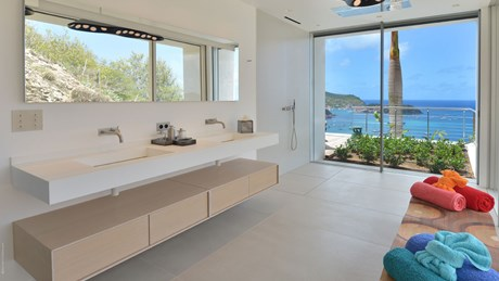 Eden Rock Villa Rental - Villa Utopic - Bathroom 1 -St Barths