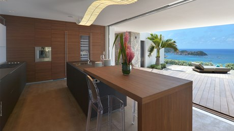 Eden Rock Villa Rental - Villa Utopic - Kitchen - St Barths
