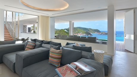 Eden Rock Villa Rental - Villa Utopic - Living Room - St Barths
