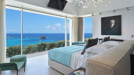 Eden Rock Villa Rentla - Villa Utopic - Bedroom 1 - St Barths