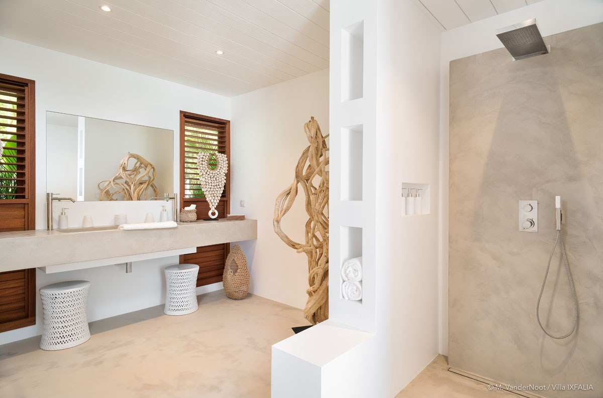 Villa Ixfalia - Eden-Rock-Villa-Rental - bathroom 2 ©Max VanderNoot
