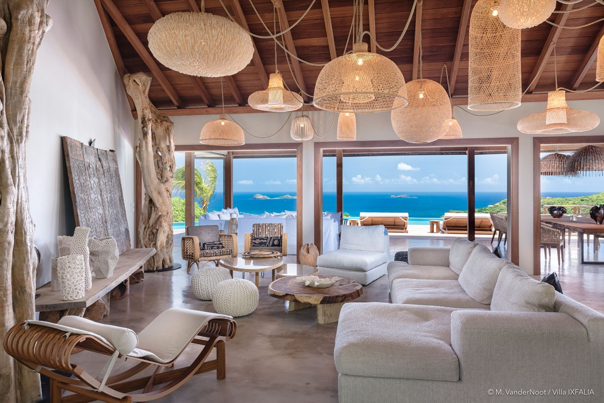 Villa Ixfalia - Eden-Rock-Villa-Rental - living room ©Max VanderNoot