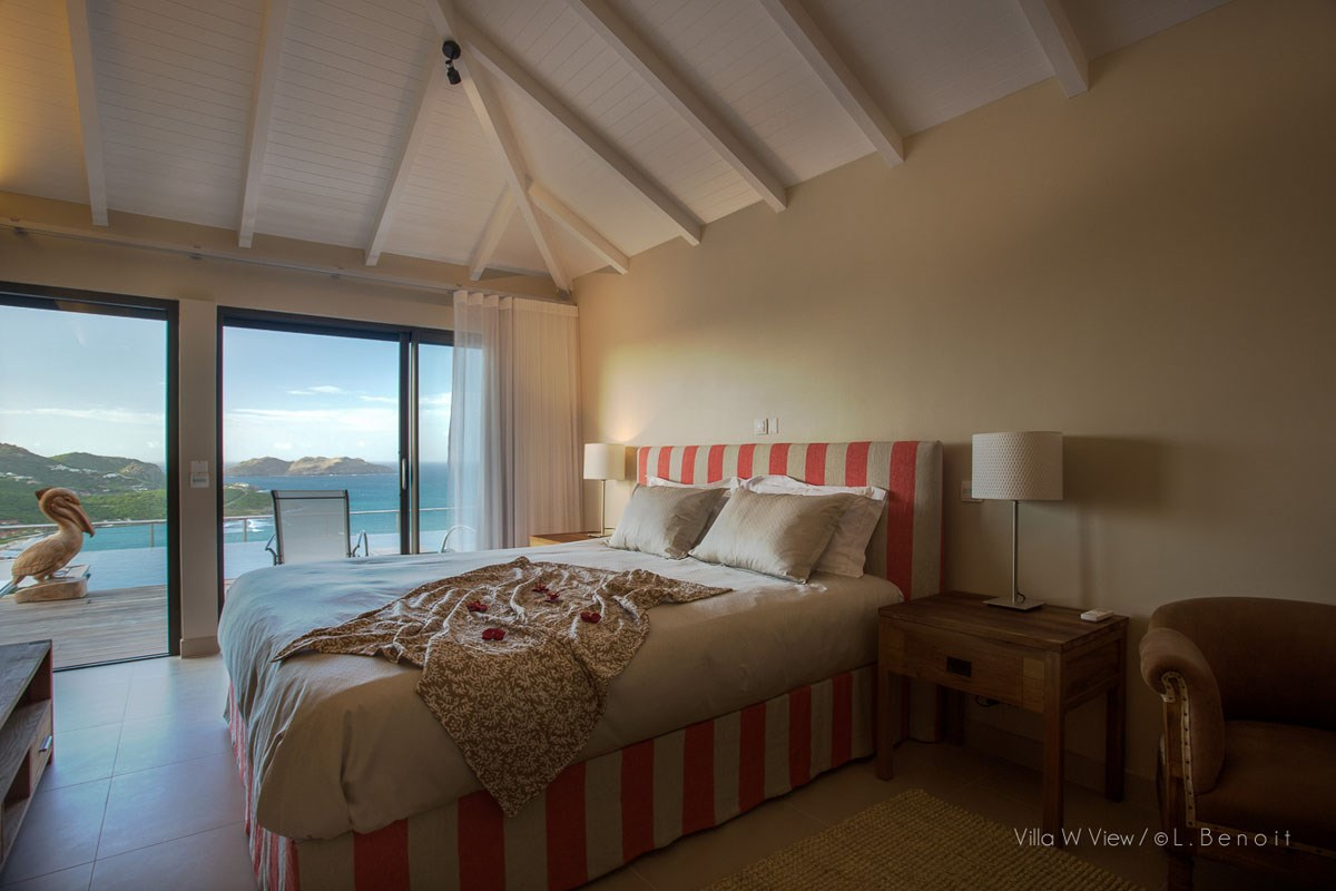 Villa W View - Eden-Rock-Villa-Rental - bedroom ©Laurent Benoit (4)-jpg