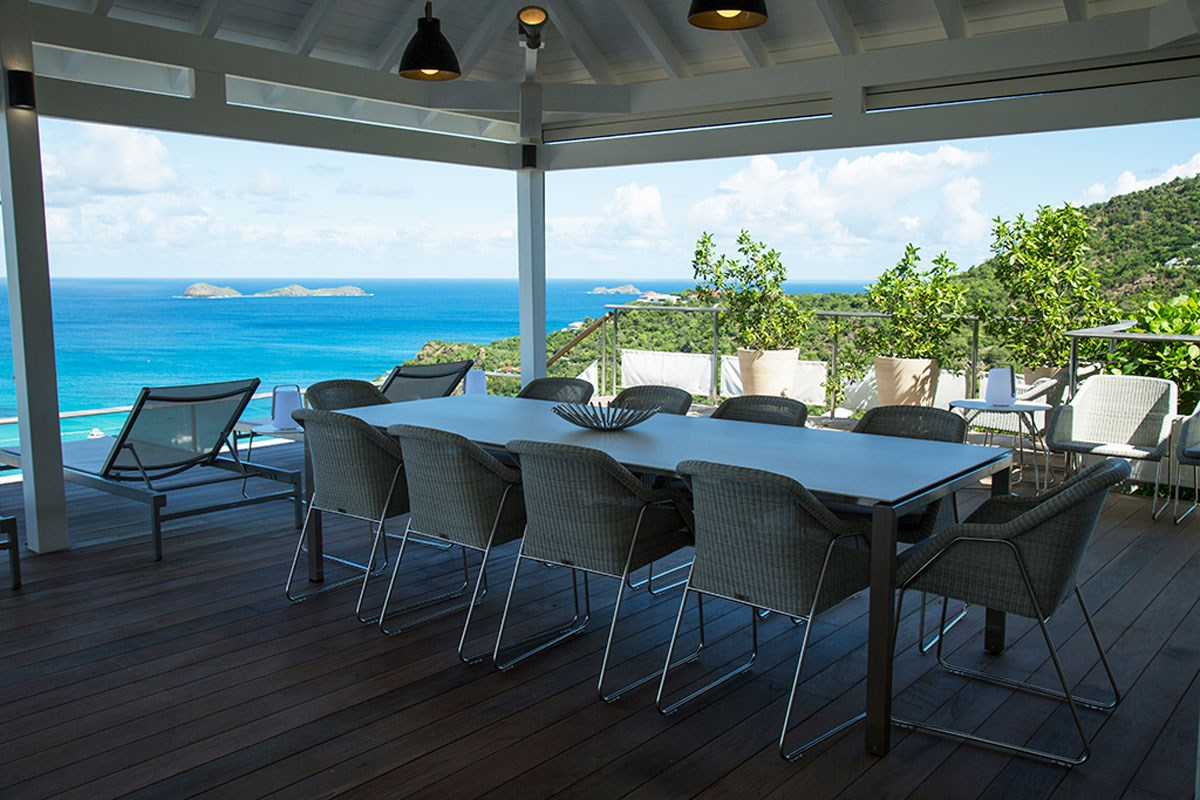 Villa W View - Eden-Rock-Villa-Rental - dining table ©Laurent Benoit  (15)-jpg