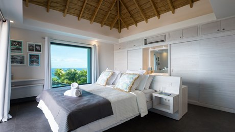 Villa Clementine - Eden-Rock-Villa-Rental - bedroom 1 ©Pierre Carreau