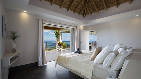 Villa Clementine - Eden-Rock-Villa-Rental - bedroom 2 ©Pierre Carreau