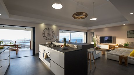 Villa Clementine - Eden-Rock-Villa-Rental - kitchen ©Pierre Carreau