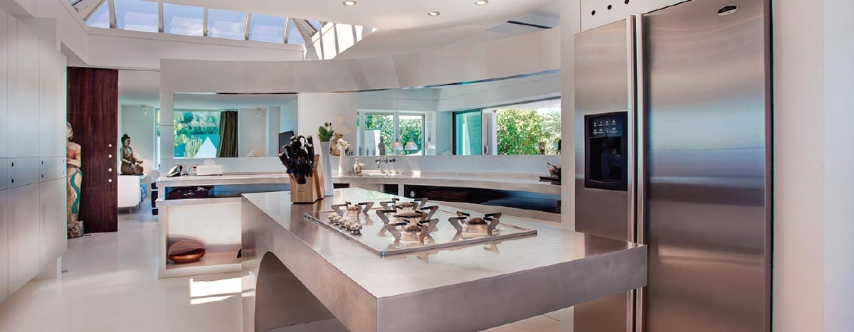 Kitchen Villa DIC © Laurent Benoit