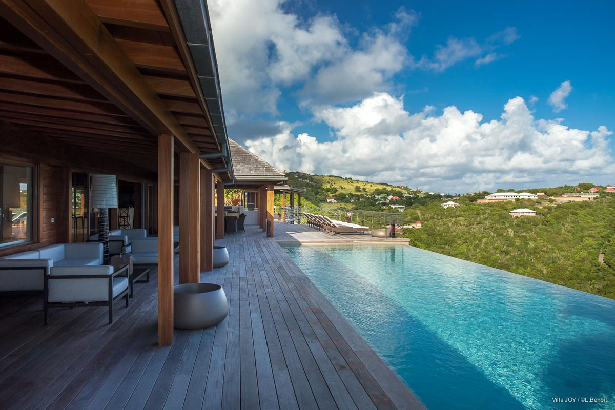 joy villa - st barts villas | eden rock villa rental
