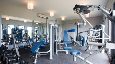 Villa Jade Fitness room ©Pierre Carreau