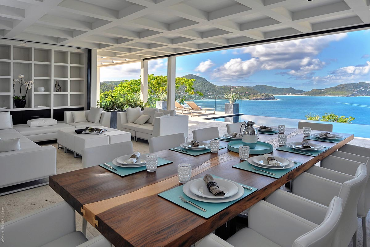 ultraluxe villas in st barts | eden rock villa rental