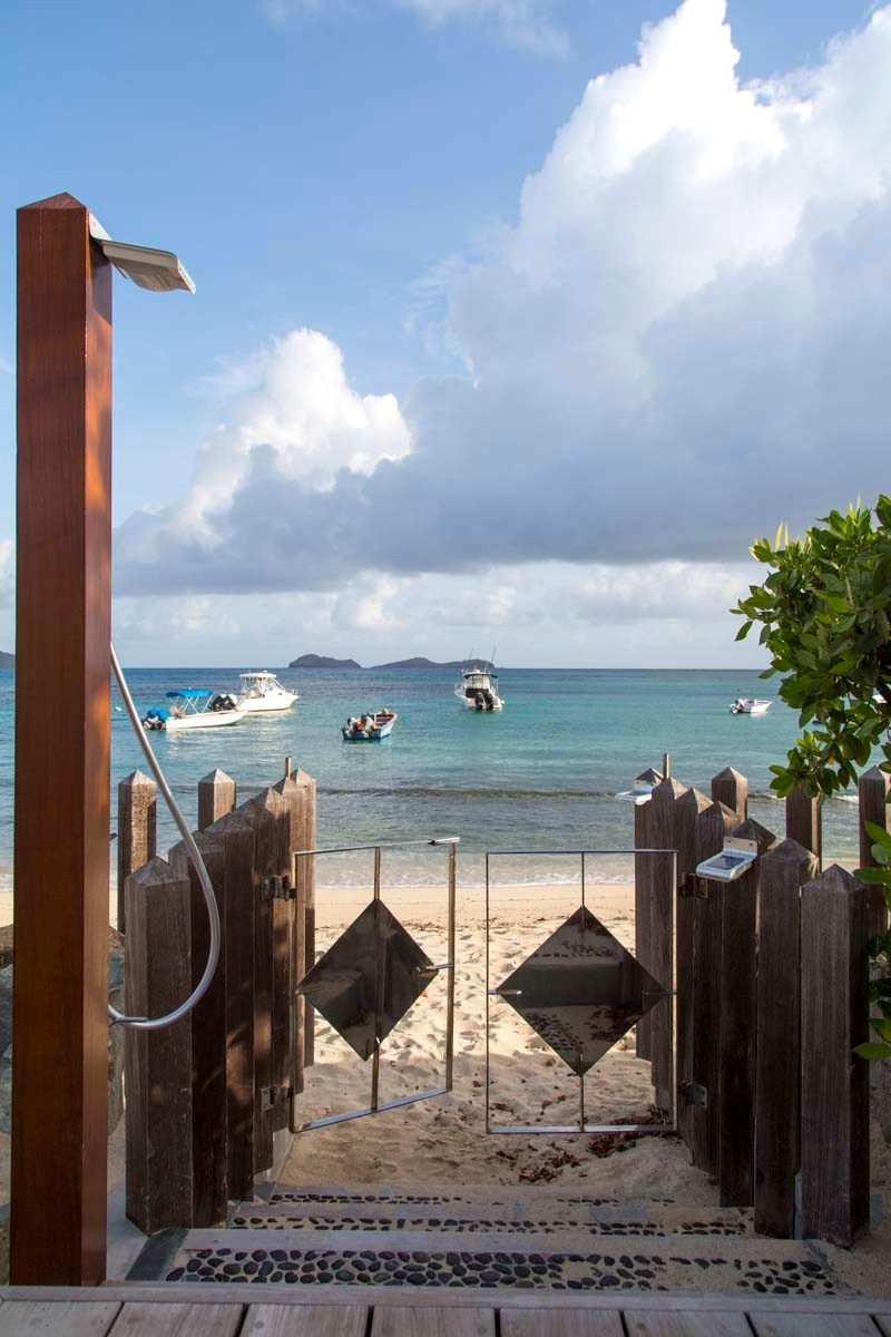 Eden Rock Villa Rental - La Plage - Beach access--jpg