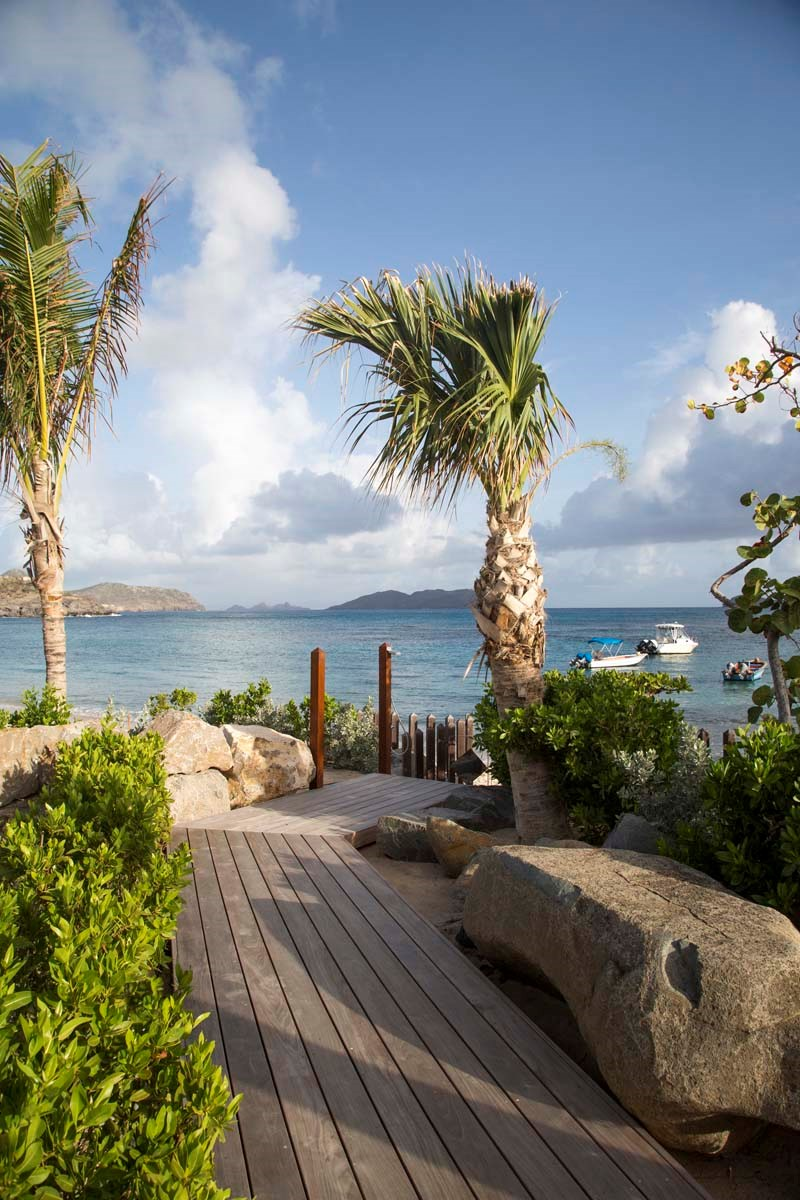 Eden Rock Villa Rental - La Plage - Beach access-jpg