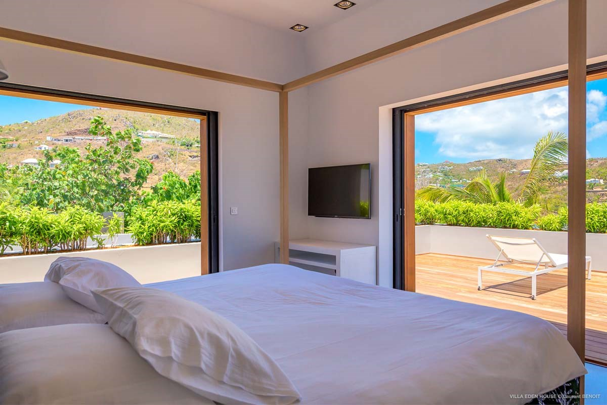 Eden Rock Villa Rental - Eden House - Bedroom 2 - Laurent Benoit-jpg