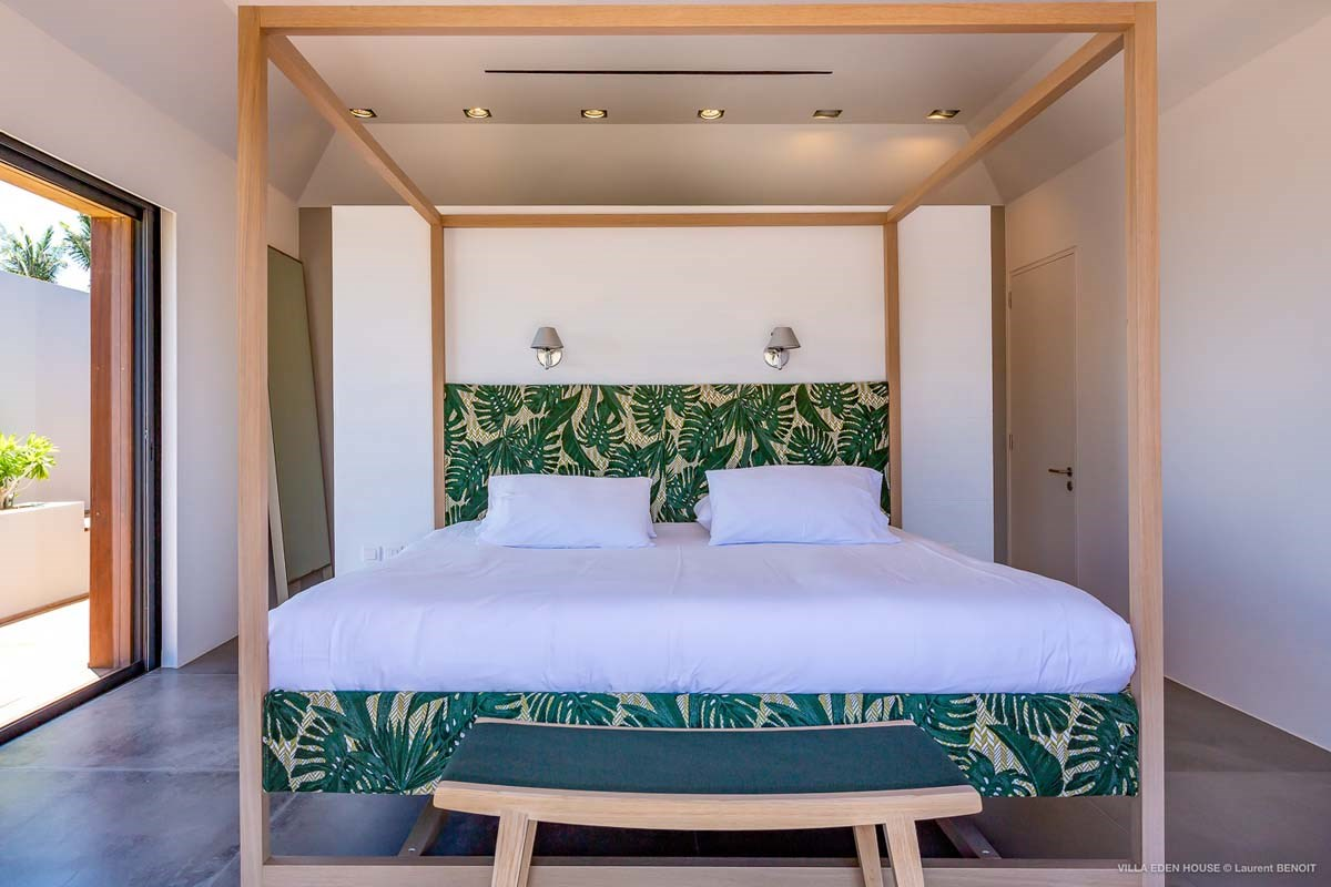 Eden Rock Villa Rental - Eden House - Bedroom 3 - Laurent Benoit-jpg