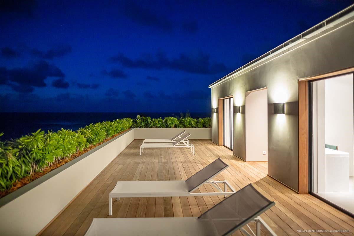 Eden Rock Villa Rental - Eden House - Bedrooms terrace - Laurent Benoit-jpg