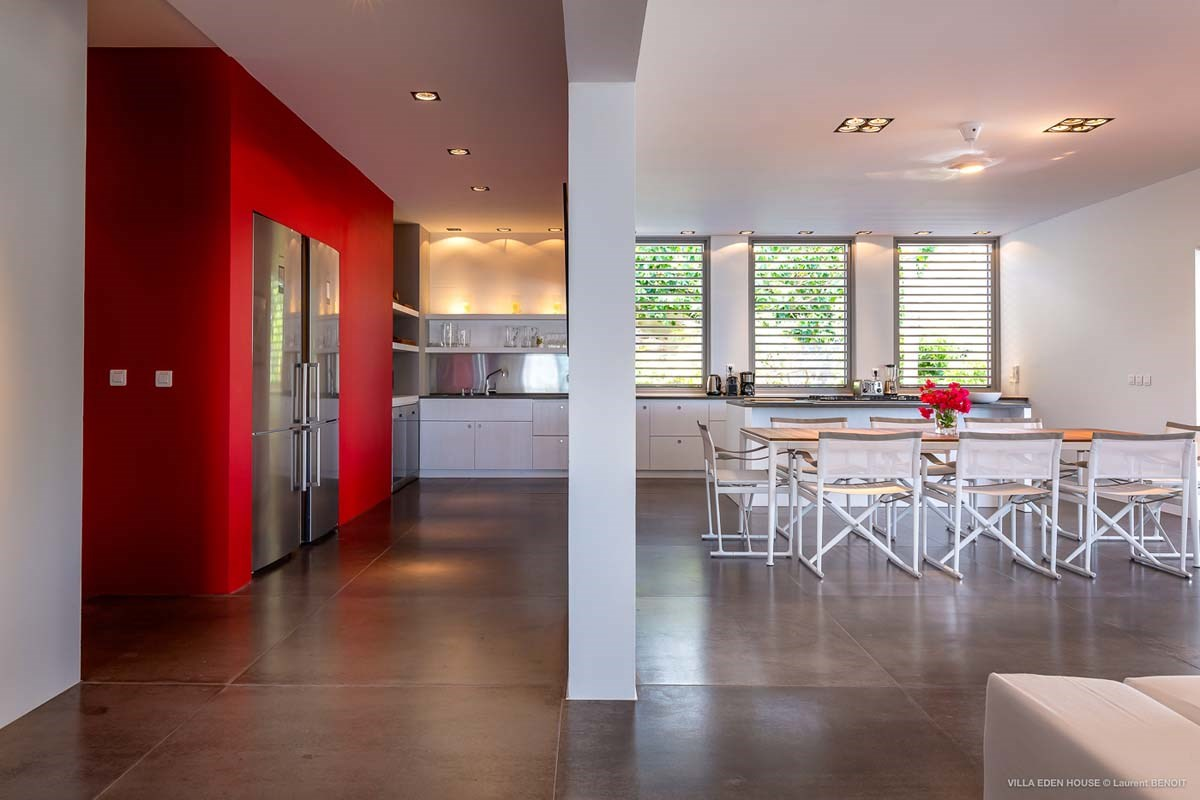 Eden Rock Villa Rental - Eden House - Kitchen - Laurent Benoit-jpg