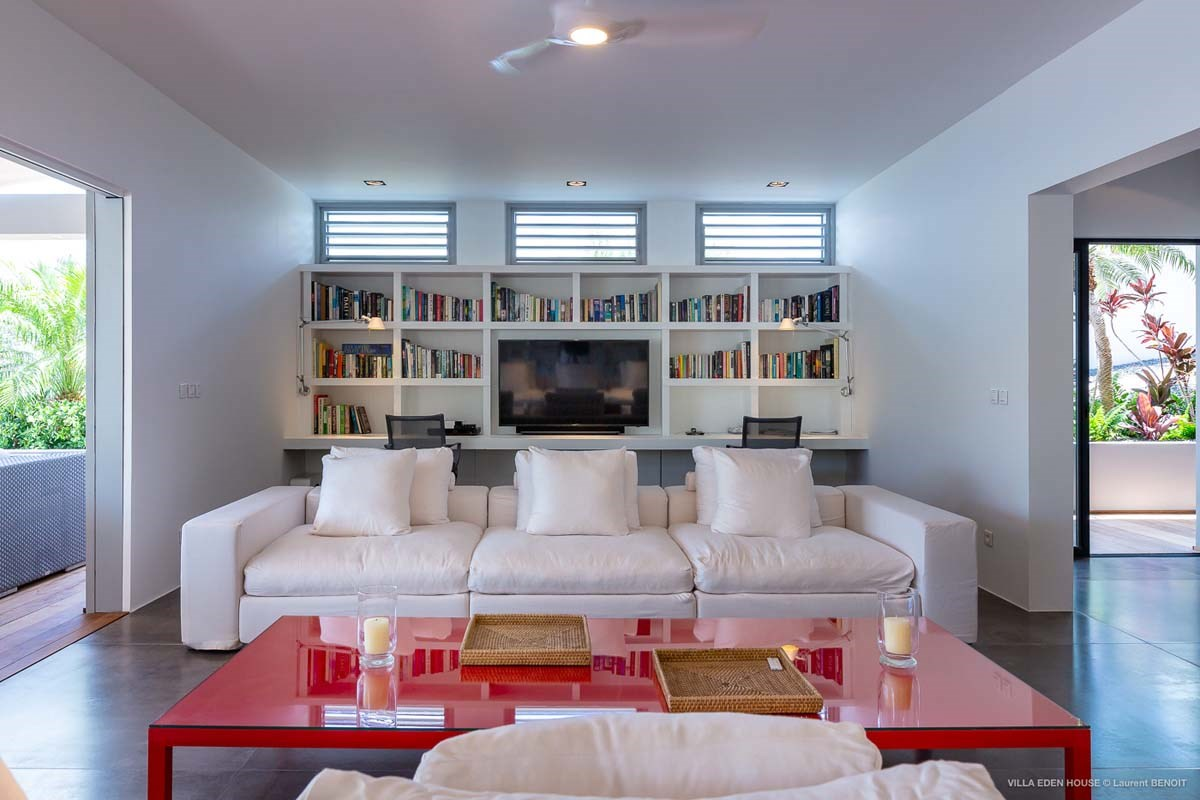 Eden Rock Villa Rental - Eden House - Living room - Laurent Benoit-jpg