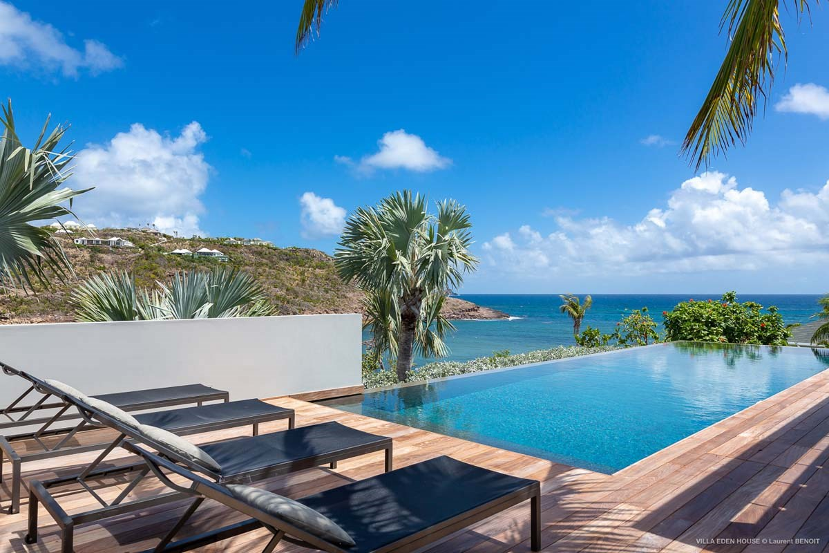 Eden Rock Villa Rental - Eden House - Pool view - Laurent Benoit-jpg