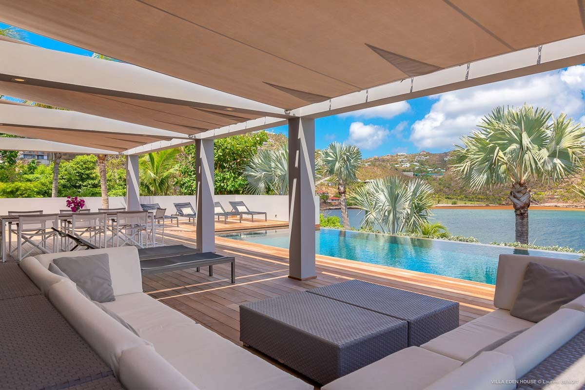 Eden Rock Villa Rental - Eden House - Terrace view - Laurent Benoit-jpg