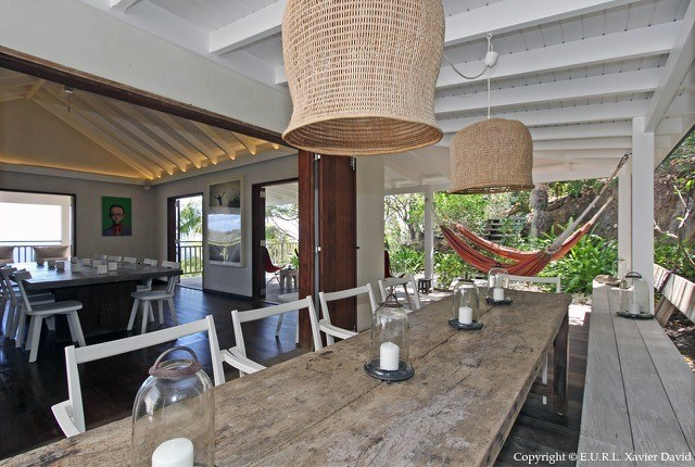 Eden Rock Villa Rental - Bibi - outside table-jpg