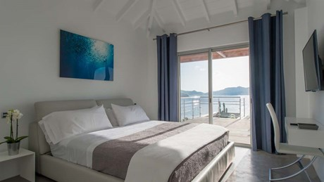 Eden Rock Villa Rental - Pointe Milou - Bedroom-jpg