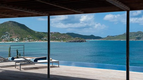 Eden Rock Villa Rental - Pointe Milou - Deck & pool view-jpg