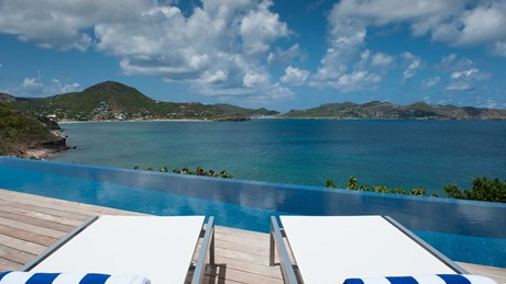 Eden Rock Villa Rental - Pointe Milou - Deck & pool-jpg