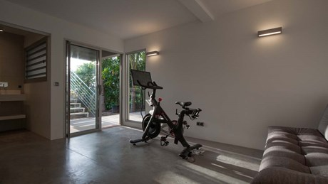 Eden Rock Villa Rental - Pointe Milou - Fitness center-jpg