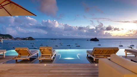 Eden Rock Villa Rental - June - Night-jpg