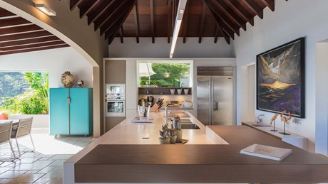 Eden Rock Villa Rental - Villa Acamar-Kitchen Area 2- By Laurent Benoit-jpg