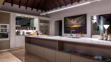 Eden Rock Villa Rental -Villa Acamar-Kitchen Area-By Laurent Benoit-jpg