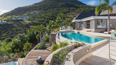 Eden Rock Villa Rental -Villa Acamar-Pool & Jacuzzi Sundeck area- By Laurent Benoit-jpg