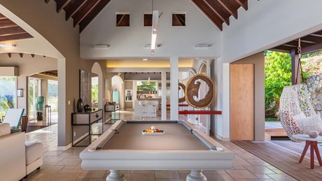 Eden Rock Villa Rental- Villa Acamar-Pool Table- By Laurent Benoit-jpg