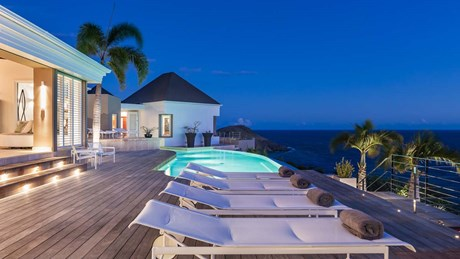 Eden Rock Villa Rental-Villa Acamar-Pool terrace-By Laurent Benoit-jpg