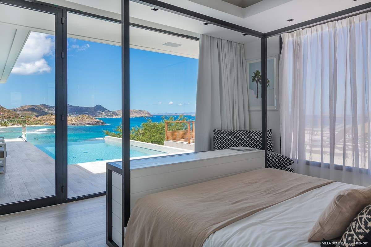 Eden Rock Villa Rental - Star - Bedroom 1 - Laurent Benoit-jpg