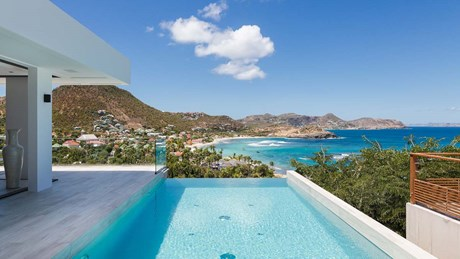 Eden Rock Villa Rental - Star - Pool & view - Laurent Benoit-jpg