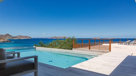 Eden Rock Villa Rental - Star - Pool area and deck - Laurent Benoit-jpg