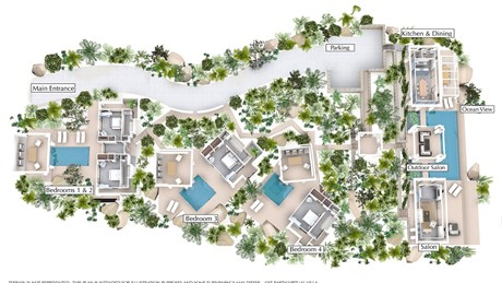 EdenRockVillaRental-Villa-Rose-Map-jpg