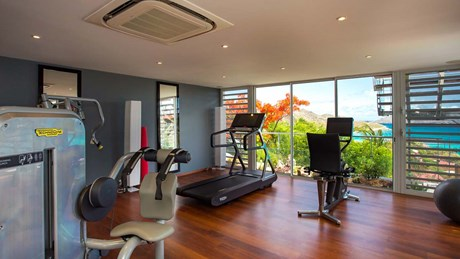 Eden Rock Villa Rental - Panama - Gym- - Laurent Benoit-jpg