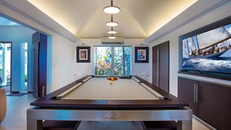 Eden Rock Villa Rental - Panama - Pool Table - Laurent Benoit-jpg