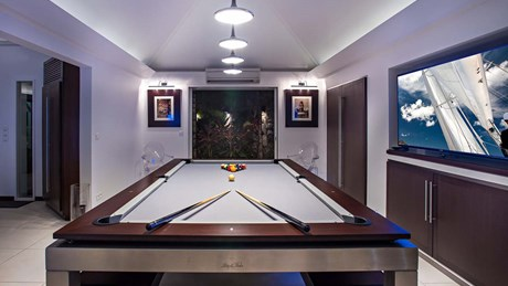 Eden Rock Villa Rental - Panama - Pool table- - Laurent Benoit-jpg